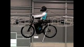 Flying Electric Bike - Video