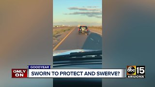 Goodyear officer caught driving recklessly