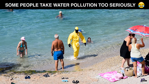 Some People Take Water Pollution Too Seriously