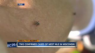 First human cases of West Nile in Wisconsin this year found in Oconto, Fond du Lac Counties - Video