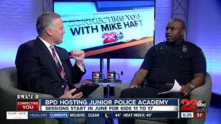 Bakersfield Police hosting Junior Police Academy this summer - Video