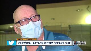 Chemical attack victim speaks to 13 Action News - Video