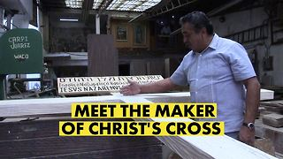 The man behind Christ's cross - Video