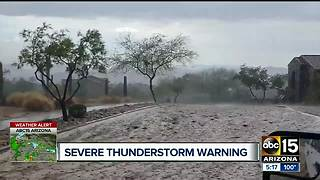 ABC15 viewers share weather video - Video