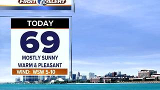 Warm and bright again today - Video