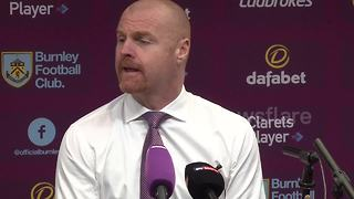 Burnley's Sean Dyche sees funny side Arsenal inflict late pain - Video
