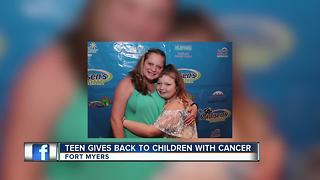 Teen Gives Back to Children with Cancer