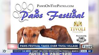 Paws Festival takes over Tivoli Village - Video