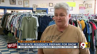 Tri-State residents prepare for snow - Video