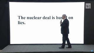 Netanyahu Exposes Iran's Secret Nuclear Files, 'Iran Lied' - Video