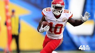Chiefs WR Tyreek Hill part of police investigation in Overland Park