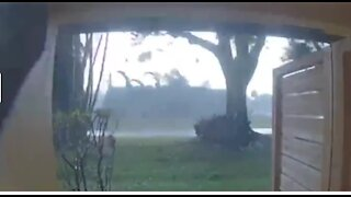 VIDEO: Roof ripped off building in west Boynton Beach