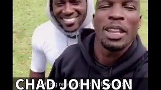 Chad Johnson Covers Antonio Brown 1-on-1 - Video