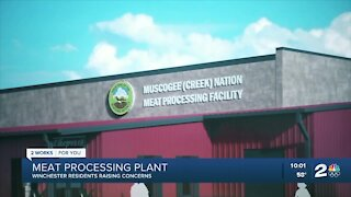 Winchester residents worried by meat processing plant moving in
