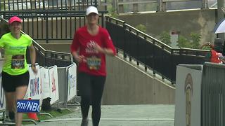 Women's Bellin Half marathon - Video