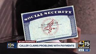 New social security phone scam - Video