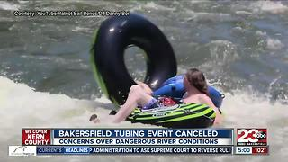 Annual tubing event canceled after BFD warned of potential dangers - Video