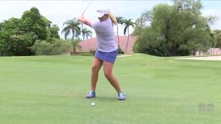 14 year-old Chloe Kolvelesky qualifies for U.S Woman's Open