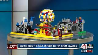 Interview: Giving kids the self-esteem to try STEM classes - Video