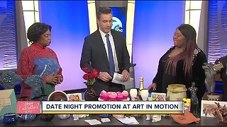 Date night for your valentine at Art in Motion