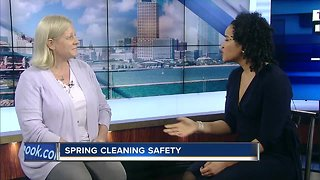 Spring cleaning safety: Avoiding dangerous chemicals