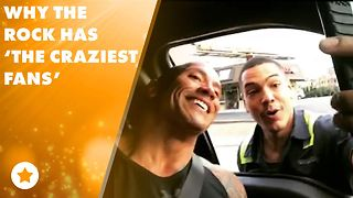 #Goals: Fan risks life for a snap with Dwayne Johnson - Video