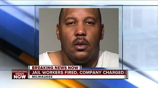 Prosecutors charge health company in Milwaukee jail death - Video