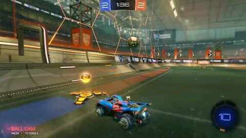 Awesome play(rocket league)