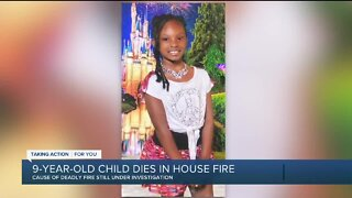 9-year-old child dead, another hospitalized in Detroit house fire