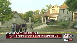 Two people found dead in home in KCMO - Video