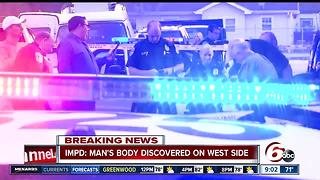 Body found on west side - Video