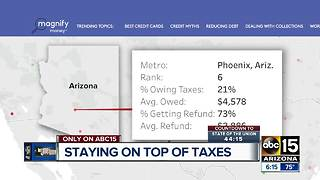 Let Joe Know says you should file your taxes sooner than later - Video