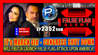 EP 2352-9AM CONGRESS SHUT DOWN! Its March 4th