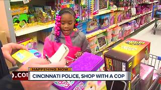 Cincinnati Police take kids Christmas shopping - Video