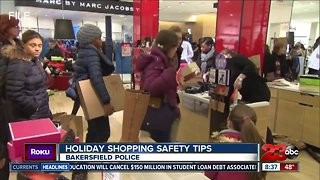 Keeping yourself safe during holiday shopping season