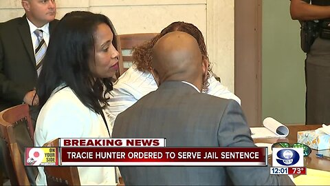 Chaos erupts as judge executes 6-month sentence for former judge Tracie Hunter