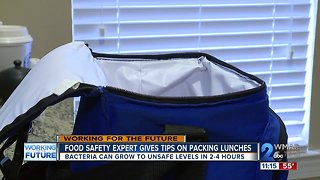 Healthy Lunch Packing Tips