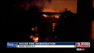 Crews respond to house fire near 180th and F - Video