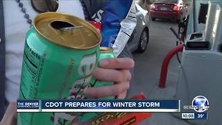 Denver Metro prepares for snow - Video