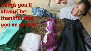 4 non-obvious things you'll be thankful you packed - Video