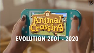 ANIMAL CROSSING EVOLUTION 2001 - 2020