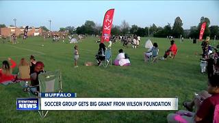 Soccer group gets big grant from Wilson Foundation - Video