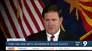Gov. Ducey talks vaccines, education, economy in one-on-one interview
