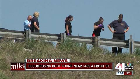 Police investigate decomposed body on I-435