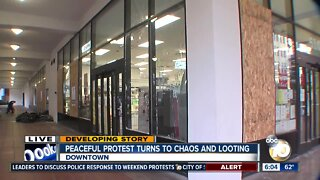 Downtown San Diego tries to recover from weekend of chaos
