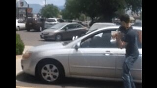 Man Smashes Window to Save Dog Inside Hot Car in Albuquerque