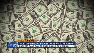 Mayor Tom Barrett faces challenges with upcoming budget