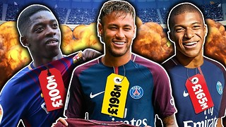 World's Most Expensive Footballers XI! - Video
