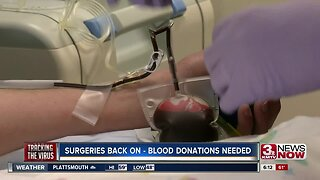Surgeries back on, blood donations needed