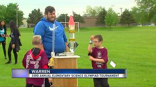 33rd Annual elementary science Olympiad tournament - Video